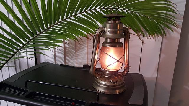 Prírodný lampový olej