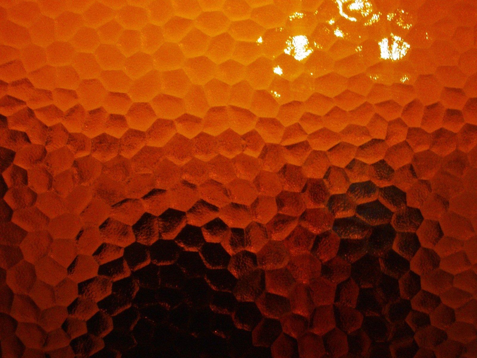 oranžové sklo, dvere